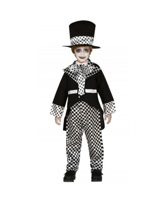 Disfraz Sombrerero loco negro para niño