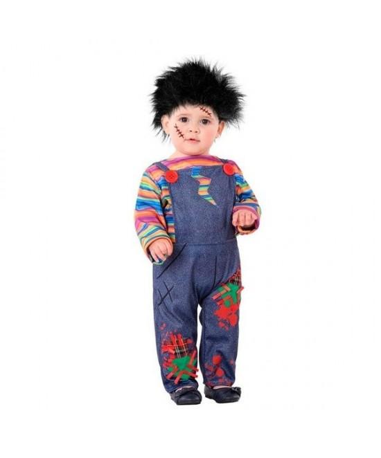 Disfraz Muñeco malvado  para bebes