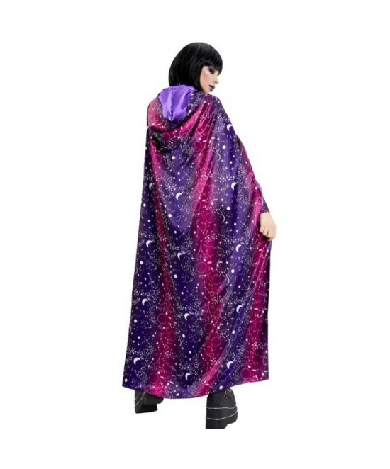 Capa Galáctica púrpura adultos