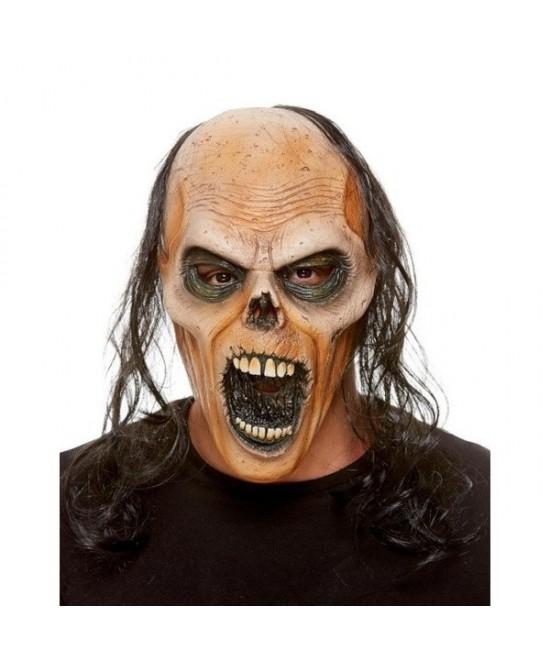 Máscara de Zombie latex con pelo