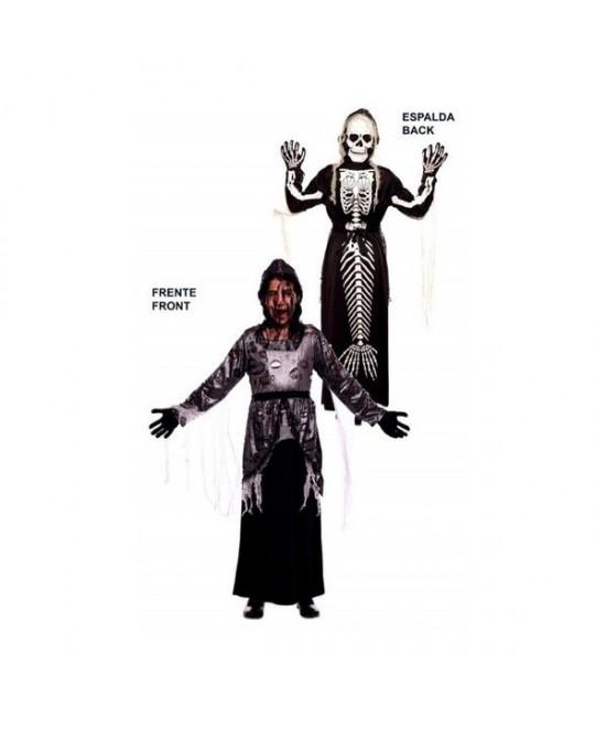 Disfraz doble Fun Muerte-Sirena niña