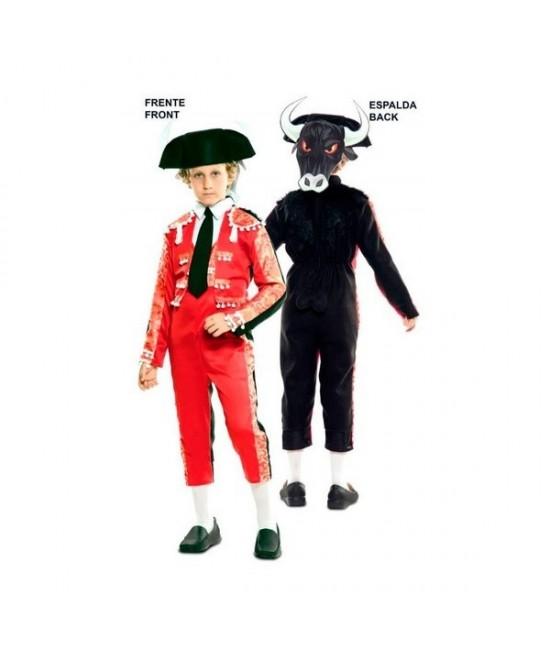Disfraz doble Fun Torero-Toro niño