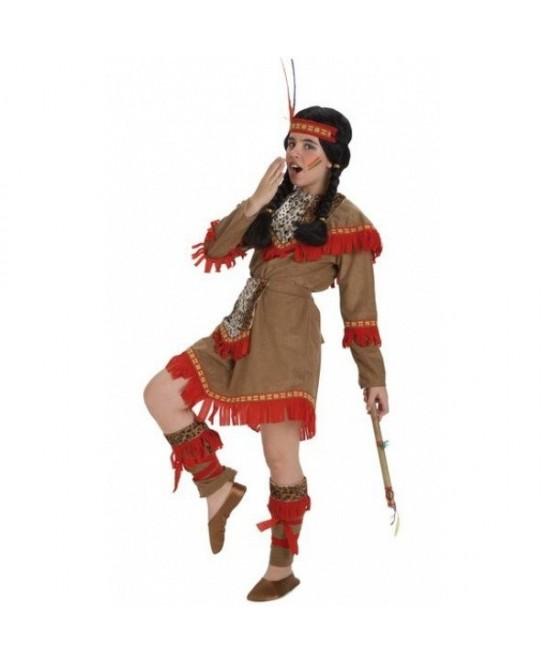 Disfraz India Lujo para niña