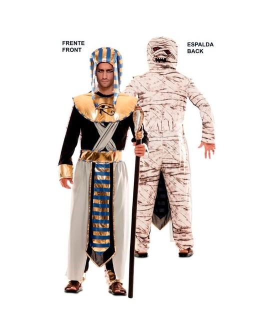 Disfraz doble Fun Egipcio-Momia hombre