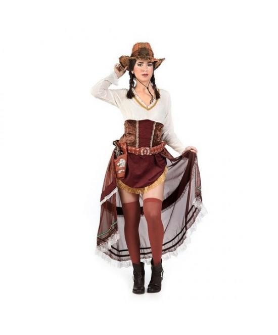 Disfraz Vaquera Cowgirl Annie luxe mujer