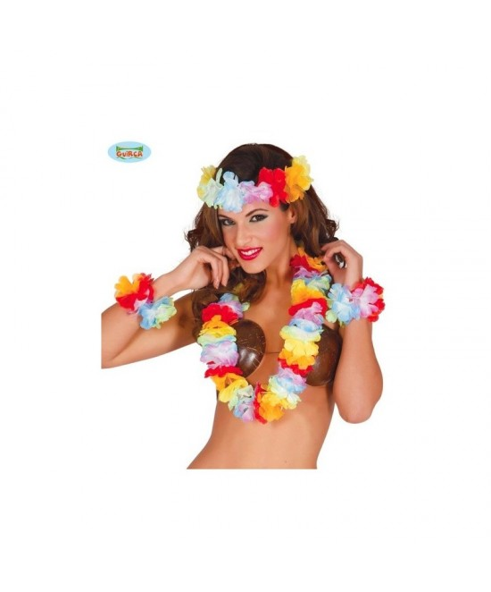 Conjunto Hawaiano Flores