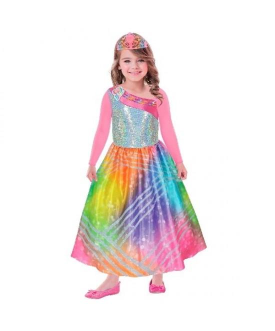 Disfraz Barbie Rainbow magic 3/5 años