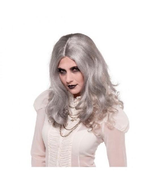 Peluca gris Zombie