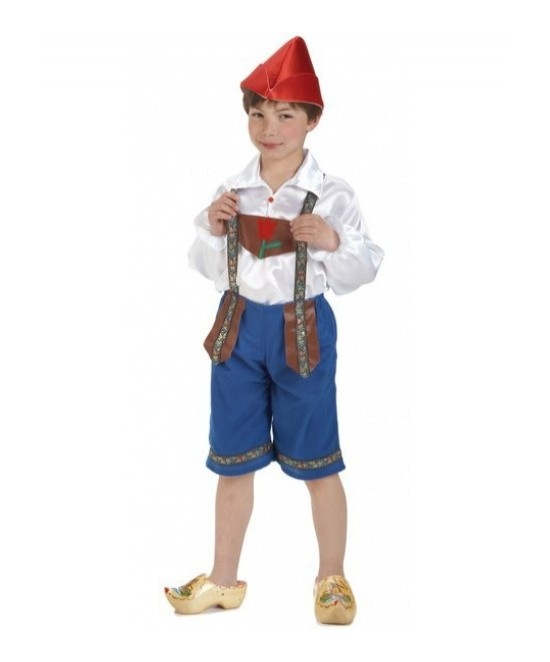 Disfraz chico tiroles para niño
