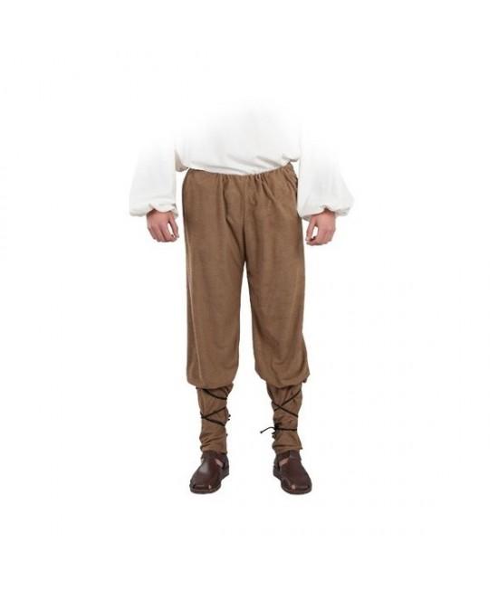 Pantalón medieval antelina adulto