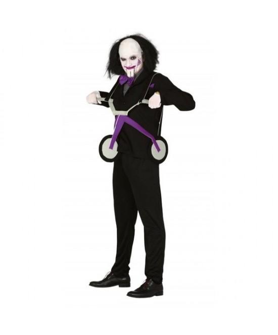 Disfraz triciclo asesino adulto