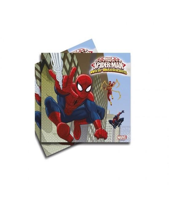 Servilletas Spiderman Ultimate 20 Uds.