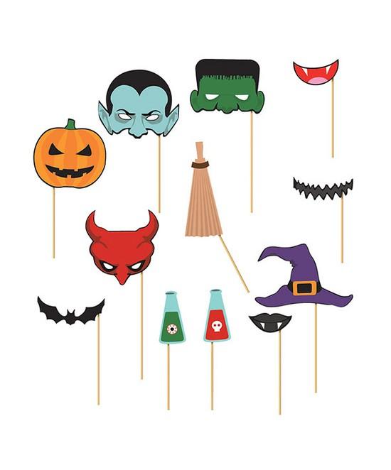 Set Photocall Halloween 12 piezas