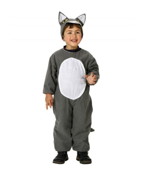 Disfraz Lobo Gris Infantil