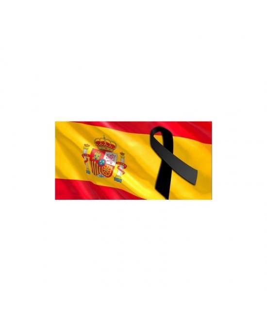 Bandera España en tela 90 X 60 CMS.