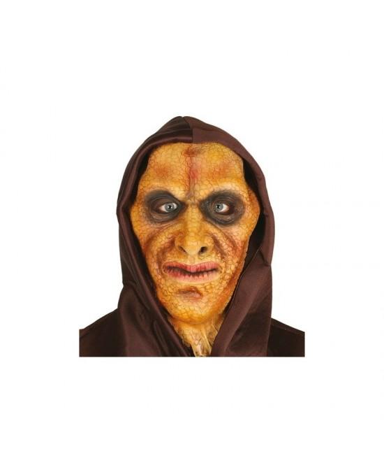Mascara hombre  lagarto con capucha