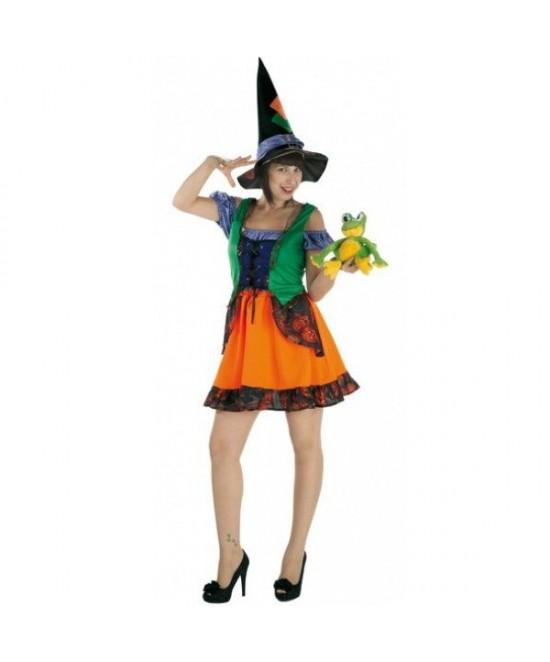 Disfraz Bruja Colorines mujer