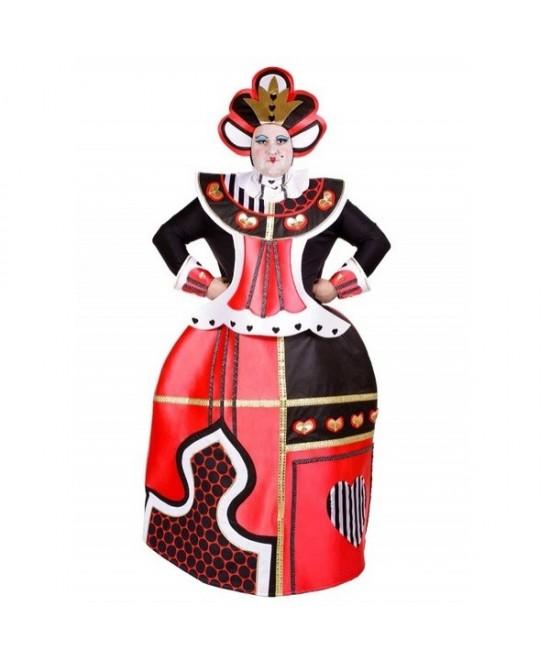 Disfraz Reinona De Corazones hombre