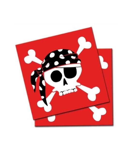 Piratas, 20 Servilletas