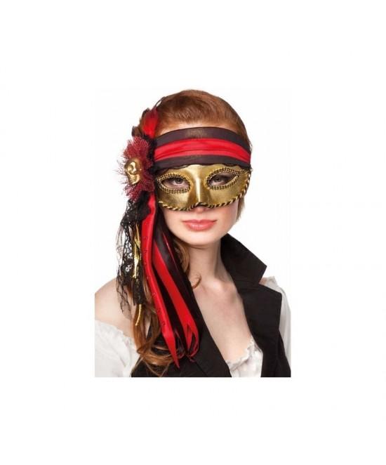 Máscara Pirata Veneciana