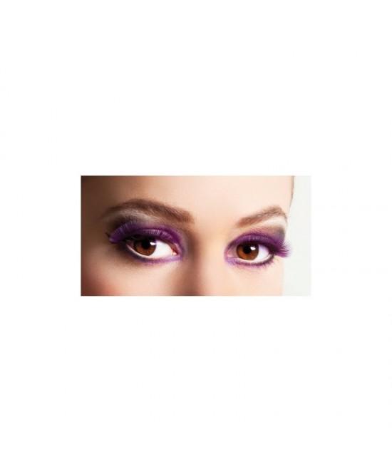 Pestañas Púrpura (tamaño normal)