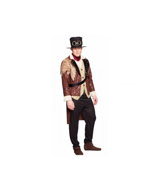 Disfraz Capitán Steampunk adulto T.M/L