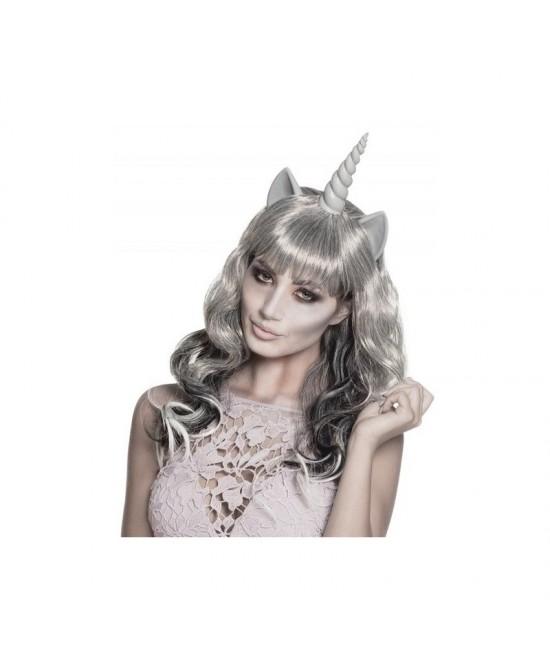Peluca Unicornio Fantasma