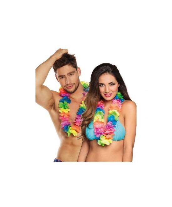 Collar hawaiano Ohana colores  deluxe