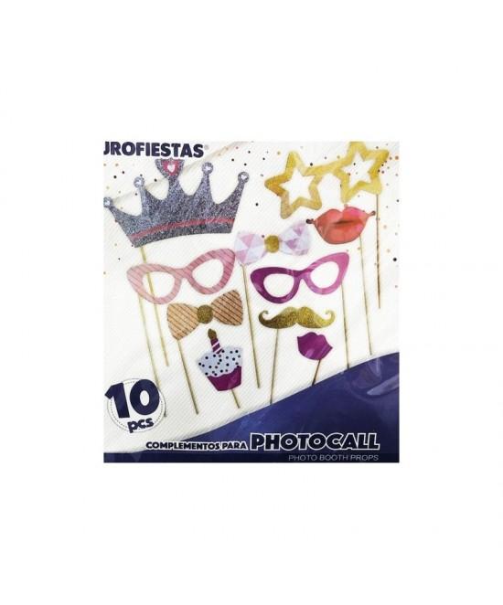 Photocall10 piezas  purpurina  EU