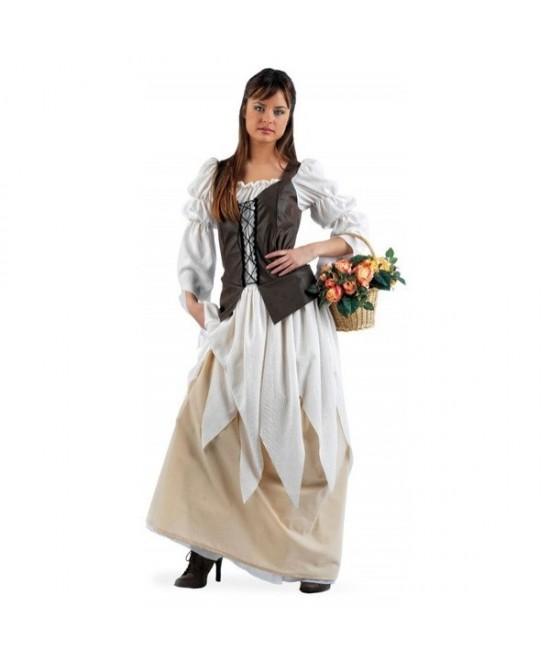 Disfraz Tabernera Medieval Eugenia mujer