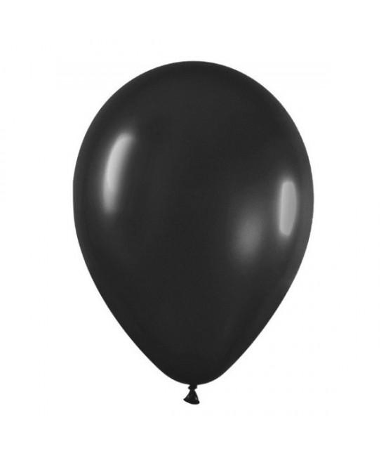 Bolsa 100 Globos R-5 Negro Sólido