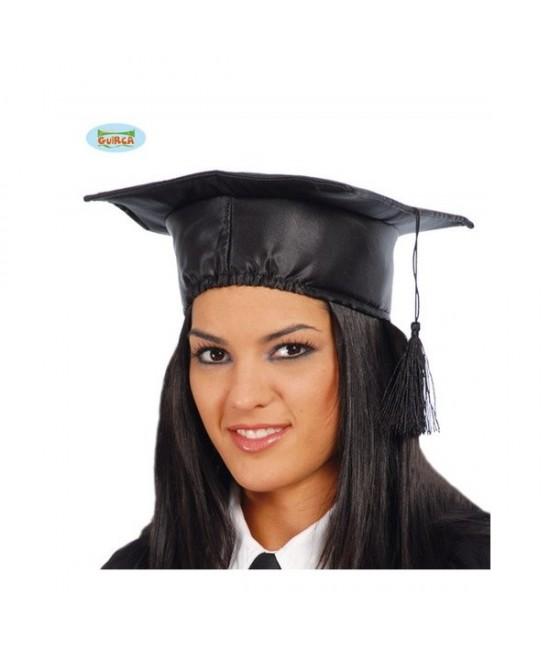 Birrete Estudiante tela T.unica