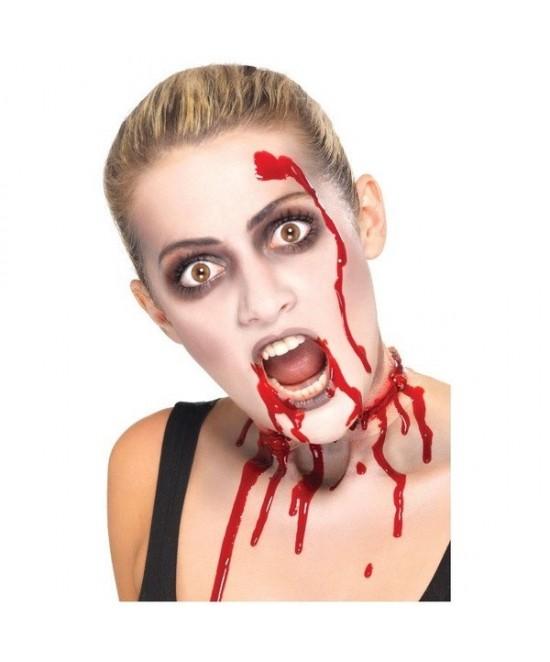 Set Zombie Maquillaje Y Sangre