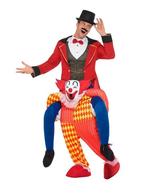 Disfraz Payaso con  piernas simuladas