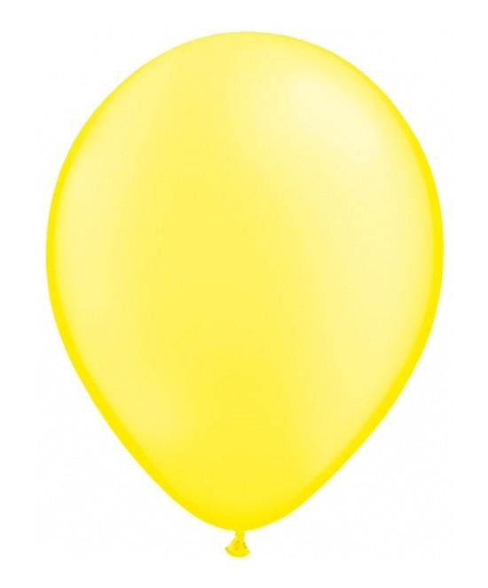 Bolsa 50 Globos Amarillo limón