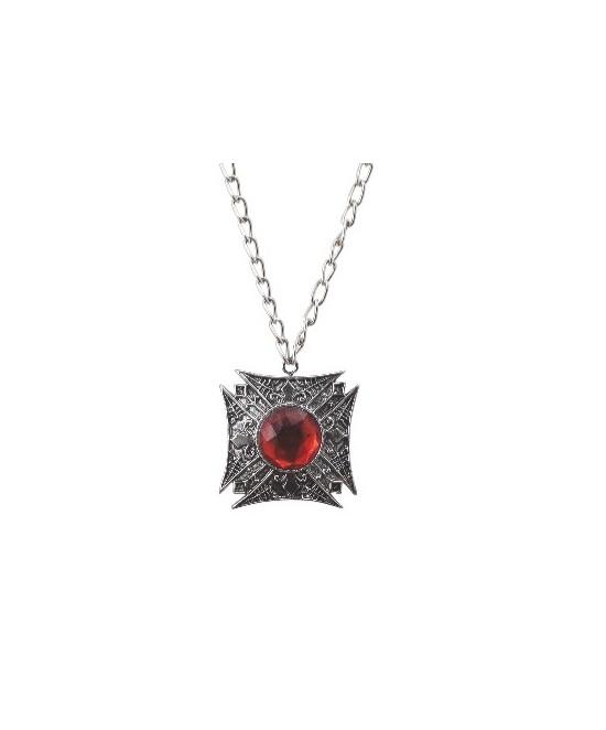 Medallon metal rey