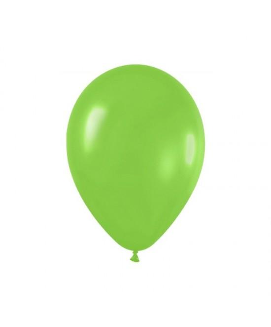 Bolsa De 50 Globos Verde Lima