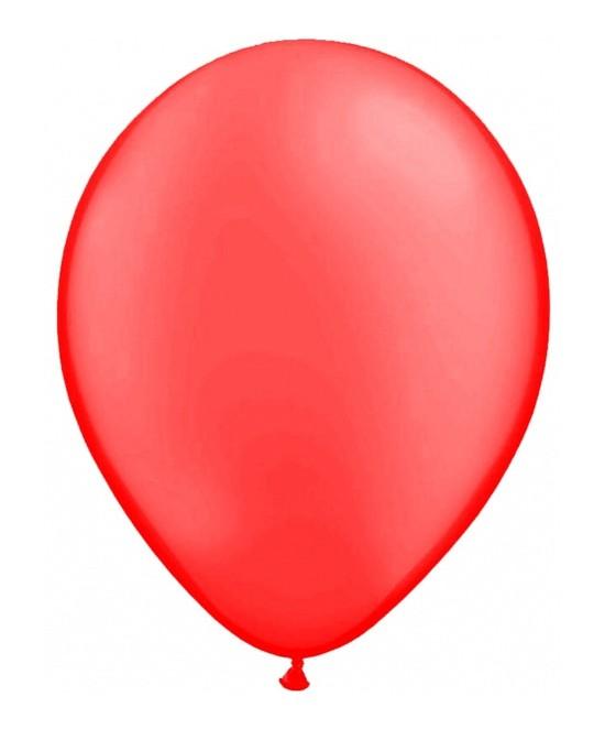 Bolsa 50 Globos Rojo