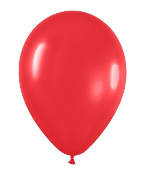 Globo Látex Rojo