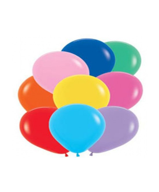 Globo Latex Colores Surtidos