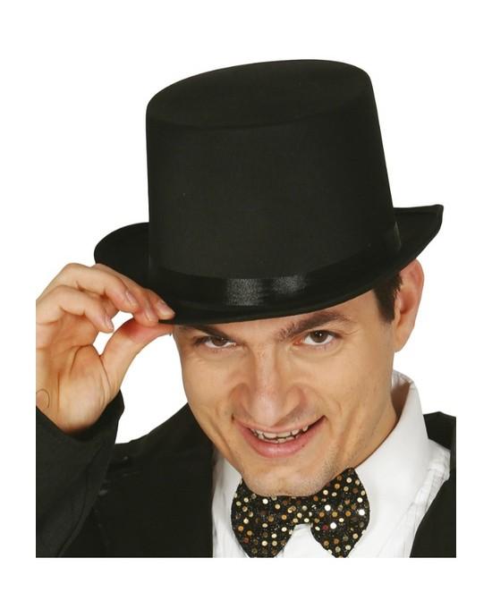 Sombrero Chistera Negra