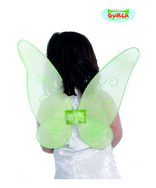 Alas Mariposa Verde 40x45cms