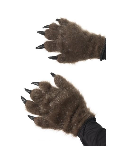 Manos-Garras marrones de animal