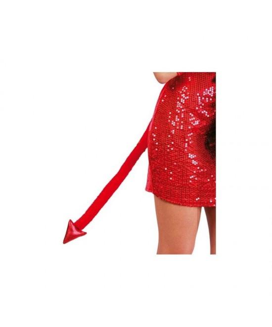 Cola de Demonio roja  45 cms