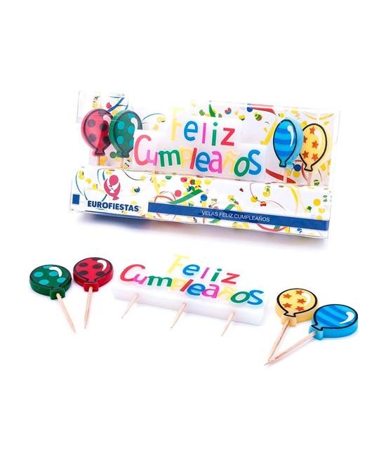 Vela Cumpleaños Feliz