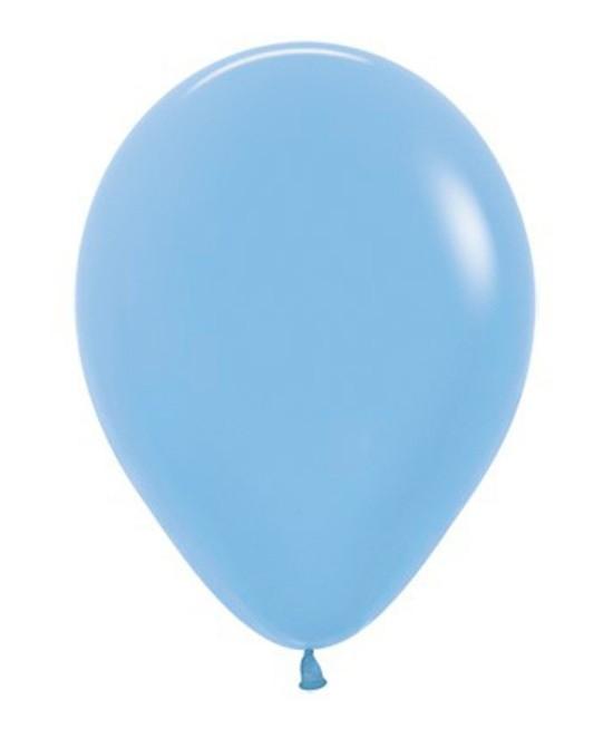 Globo Látex Neón Azul