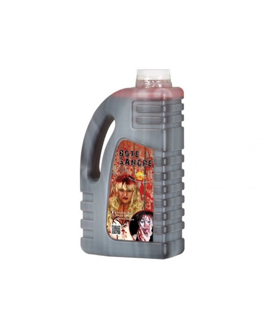 Bote sangre 1 litro