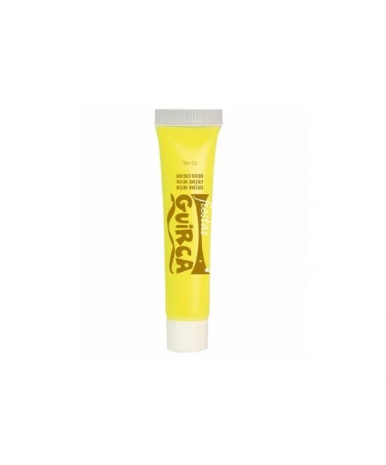 Tubo maquillaje crema neón 10ml.