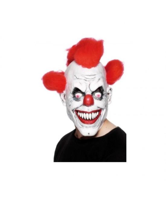 Máscara de Payaso con pelo adulto