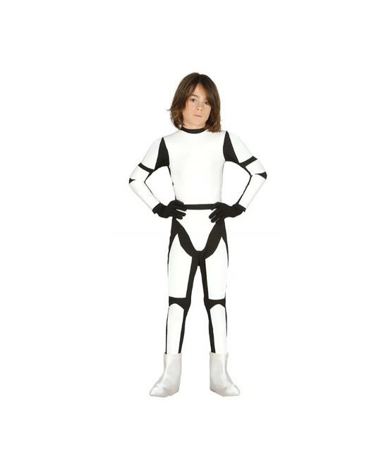 Disfraz soldado espacial infantil